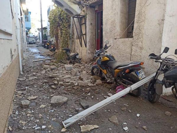 Σεισμός : Στα 7 Ρίχτερ αναθεώρησε τη δόνηση στη Σάμο το Ευρωμεσογειακό Σεισμολογικό Ινστιτούτο | tanea.gr