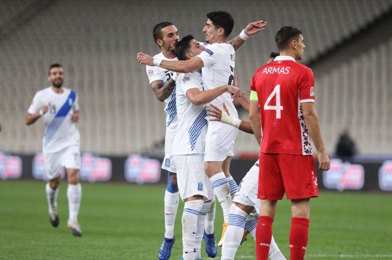 Ετσι κέρδισε η Εθνική την Μολδαβία | tanea.gr