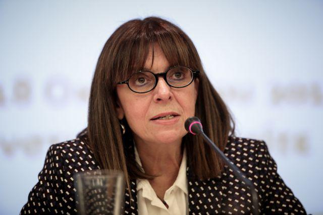 Σακελλαροπούλου: Επιβεβαίωση ότι η Δημοκρατία μπορεί να ανατρέψει κάθε προσπάθεια υπονόμευσής της   tanea.gr