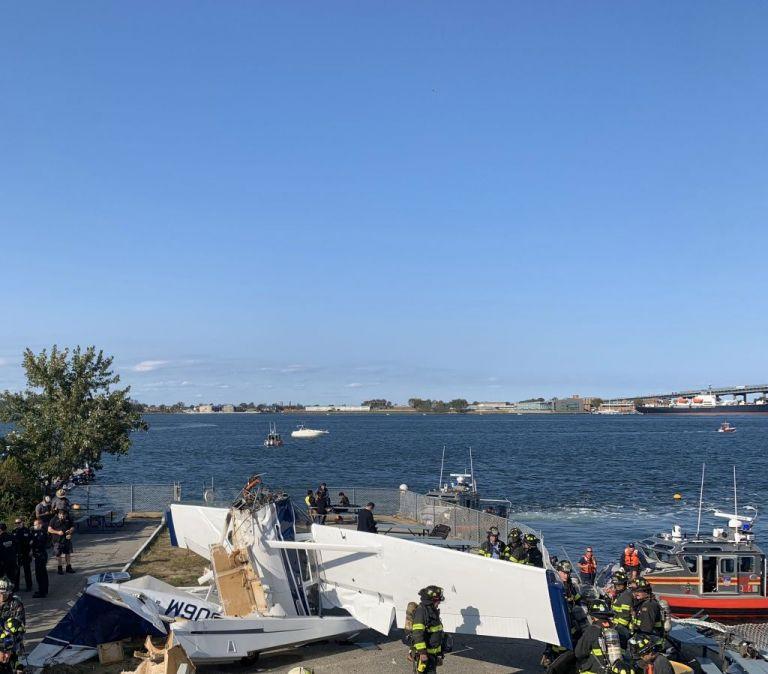Νέα Υόρκη: Μονοκινητήριο αεροπλάνο έπεσε σε προβλήτα – Ένας νεκρός και δύο τραυματίες | tanea.gr