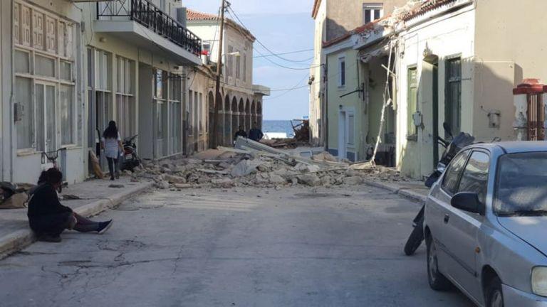 Σεισμός : Σε κατάσταση έκτακτης ανάγκης για έξι μήνες η Σάμος   tanea.gr
