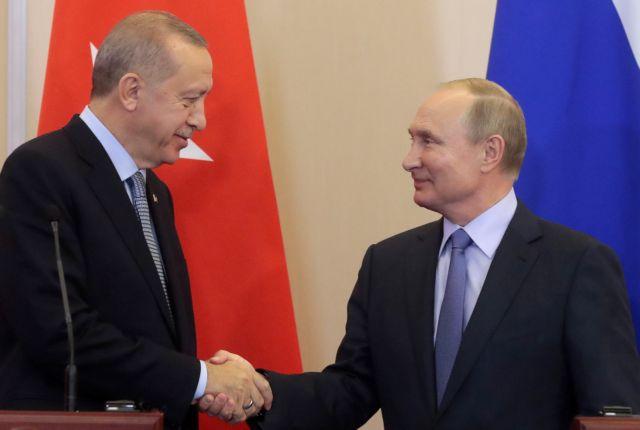 Τηλεφωνική επικοινωνία Πούτιν με Ερντογάν | tanea.gr