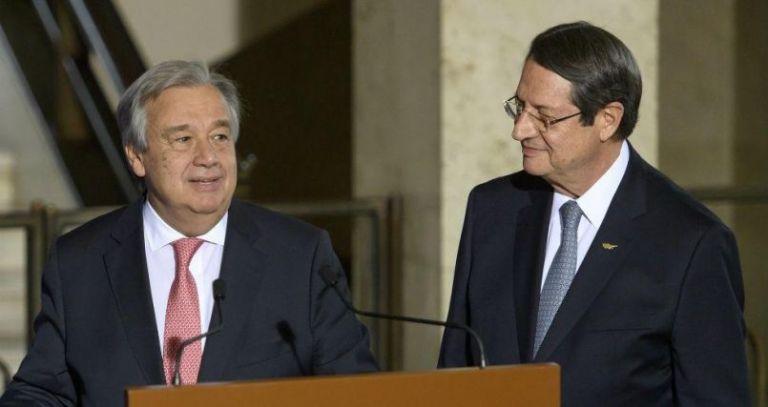 Κυπριακό : Επιστολή του ΓΓ του ΟΗΕ σε Αναστασιάδη για επανέναρξη των συνομιλιών | tanea.gr