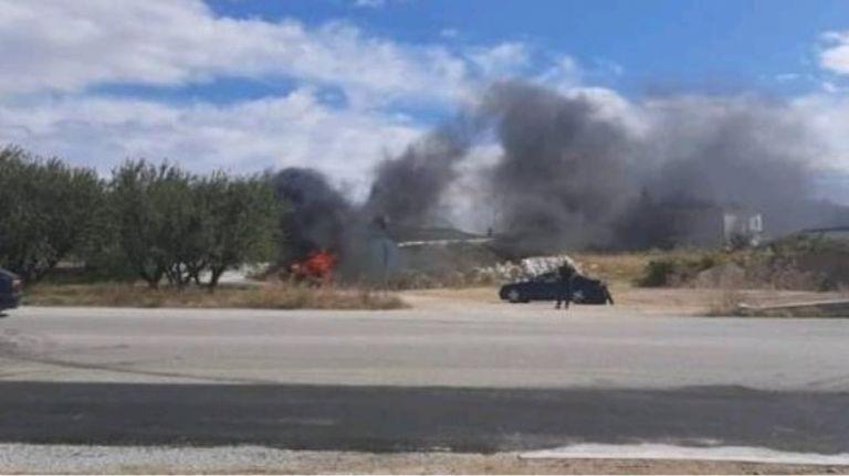 Καβάλα: Στις φλόγες αυτοκίνητο που μετέφερε μετανάστες | tanea.gr