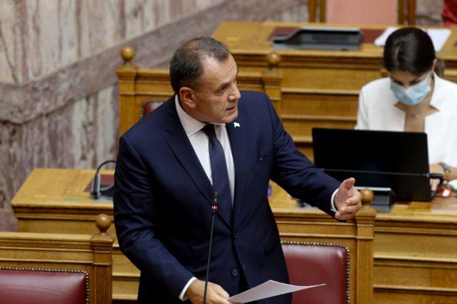 Παναγιωτόπουλος : Ο μηχανισμός του ΝΑΤΟ δεν σχετίζεται με εθνικούς κανόνες εμπλοκής | tanea.gr