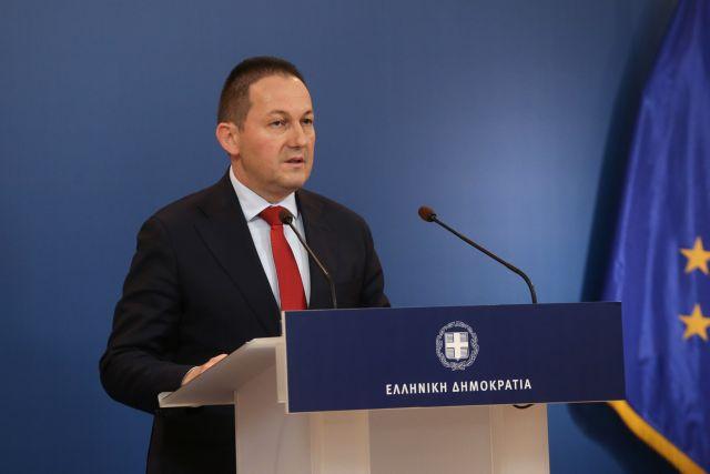 Σε εξέλιξη η ενημέρωση από τον κυβερνητικό εκπρόσωπο Στέλιο Πέτσα | tanea.gr