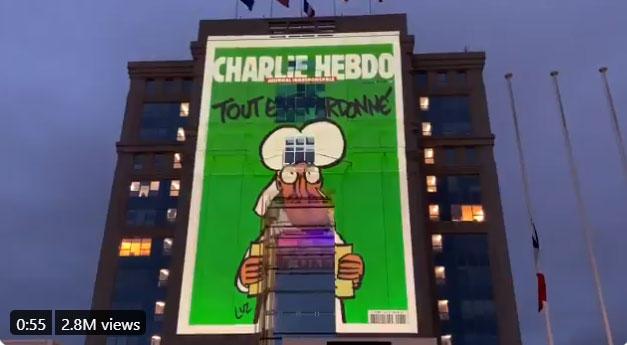 Γαλλία : Αναρτήθηκαν σκίτσα του Charlie Hebdo σε κυβερνητικά κτίρια | tanea.gr