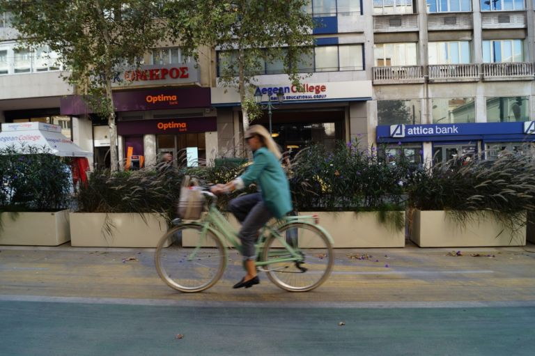 Ένα μεγάλο κέρδος από μόλις 900 μέτρα κουτσουρεμένου ποδηλατόδρομου | tanea.gr