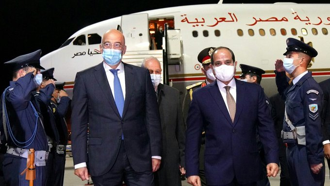 Έφτασε στην Αθήνα ο Φατάχ αλ Σίσι   tanea.gr