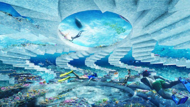 «Τσιμεντένιο Κοράλι» : Το νέο εντυπωσιακό υποβρύχιο πάρκο γλυπτικής για φιλότεχνους με οικολογικές ανησυχίες | tanea.gr