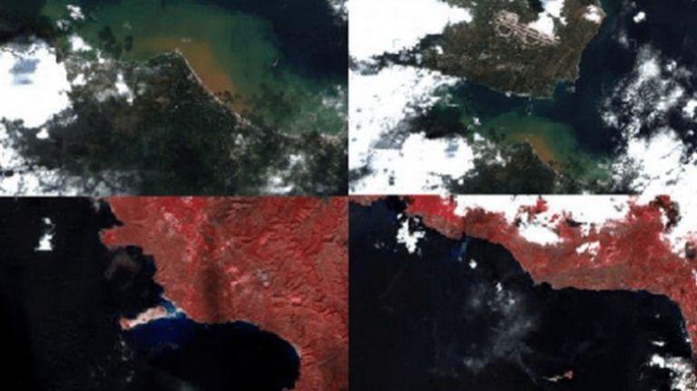 Κρήτη : Το χτύπημα της κακοκαιρίας άλλαξε χρώμα στην επιφάνεια της θάλασσας | tanea.gr