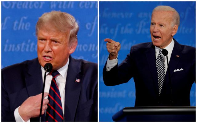 Αμερικανικές εκλογές 2020 στο MEGA: Συνεχής ενημέρωση για όλες τις εξελίξεις της «μάχης» Τραμπ – Μπάιντεν   tanea.gr