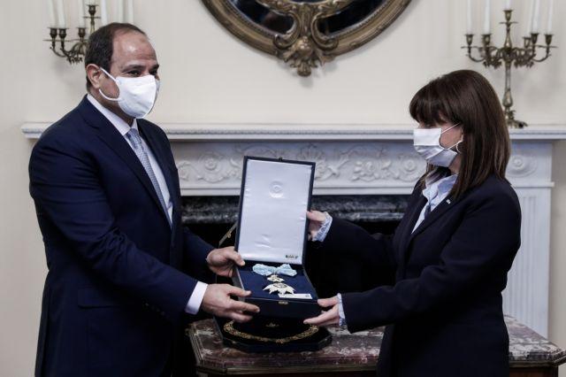 Συνάντηση Σακελλαροπούλου με Σίσι : «Η συμφωνία για την ΑΟΖ, ορόσημο για τις σχέσεις Ελλάδας – Αιγύπτου» | tanea.gr