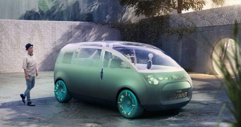 MINI Vision Urbanaut: Το αυτοκίνητο που γίνεται living room, γραφείο και χώρος ανάπαυσης | tanea.gr