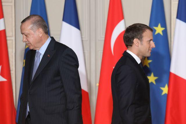 Η Γαλλία πιέζει την Ευρώπη να επιβάλει κυρώσεις στην Τουρκία | tanea.gr