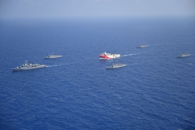 Oruc Reis : Μόλις 6,8 ν.μ. από τη νήσο Στρογγύλη έφτασε το τουρκικό πλοίο | tanea.gr