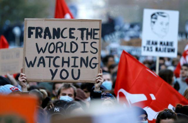 Γαλλία: H κυβέρνηση πήρε πίσω το άρθρο για την φωτογράφιση αστυνομικών | tanea.gr