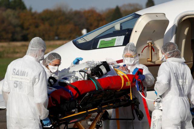 Κοροναϊός : Διακομιδές ασθενών από Γαλλία σε Γερμανία για 10 μέρες | tanea.gr
