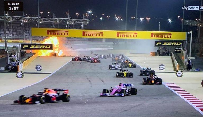 Formula 1 : Σοκαριστικό ατύχημα για Γκροζάν – Από θαύμα βγήκε ζωντανός!   tanea.gr
