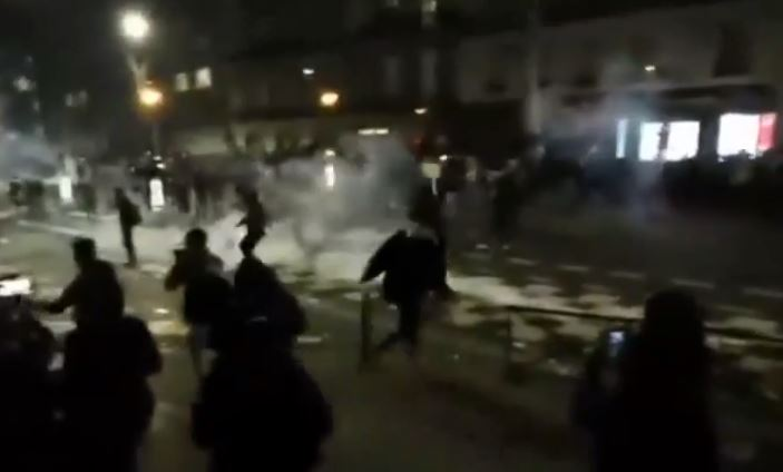 Παρίσι: Σοβαρά επεισόδια με αφορμή σχέδιο νόμου για την «Καθολική Ασφάλεια» | tanea.gr
