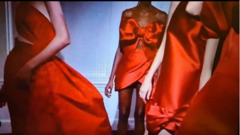Σίλια Κριθαριώτη : Διθυραμβικές κριτικές για την νέα συλλογή Couture Red for Hope Xmas 2020 | tanea.gr