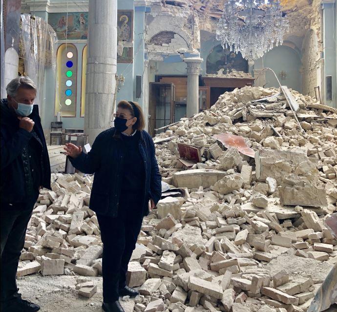 Αυτοψία Μενδώνη στη Σάμο μετά το σεισμό – Αρκετές ζημιές αποκαθίστανται | tanea.gr