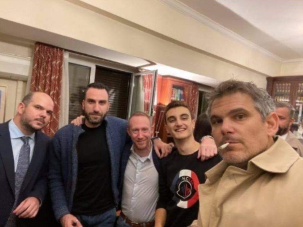 Δημήτρης Βερβεσός : Σάλος για το πάρτι γενεθλίων του εν μέσω lockdown