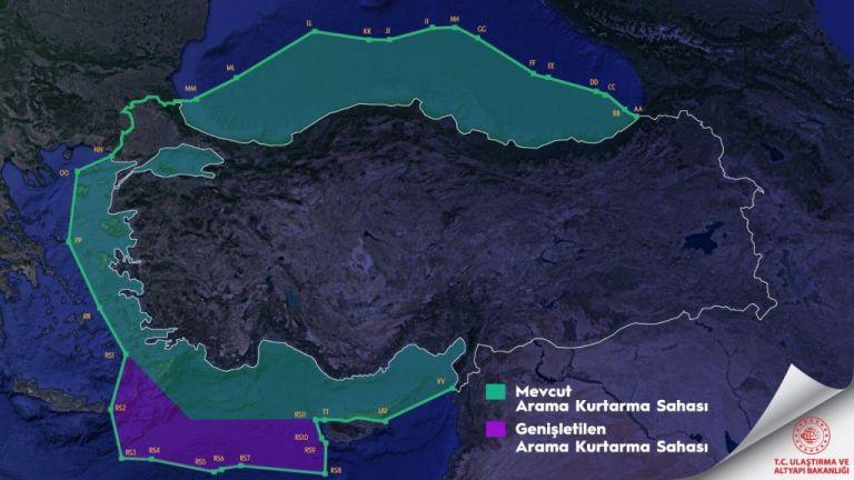 ICAO για τουρκικό χάρτη : Καμία αλλαγή στα ισχύοντα όρια για επιχειρήσεις έρευνας και διάσωσης | tanea.gr