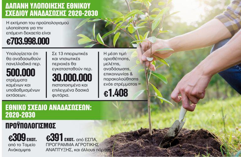 Πρασινίζει η Ελλάδα με 30 εκατομμύρια δέντρα   tanea.gr