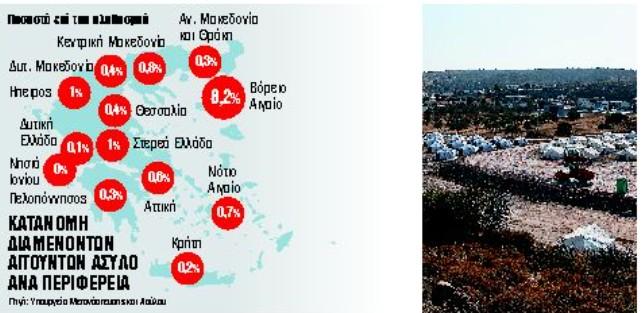 «Λουκέτο» σε εννέα δομές μεταναστών | tanea.gr