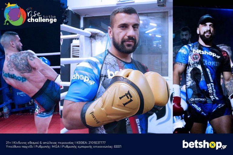 Το betshop.gr στηρίζει ως Μεγάλος Χορηγός τον Giannis Fejzullai στα ρινγκ!   tanea.gr