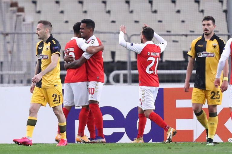Ξέχασε να μπει στο γήπεδο η ΑΕΚ : Δύο γκολ στο δεκάλεπτο η Μπράγκα | tanea.gr