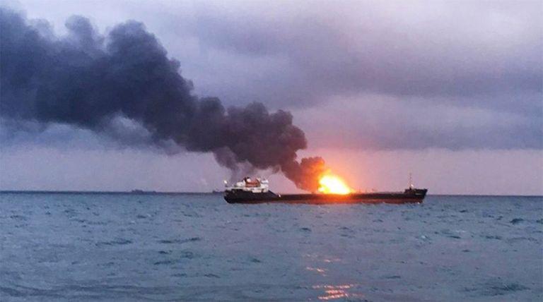 Σαουδική Αραβία : Eκρηξη σε πετρελαιοφόρο στη Τζέντα – Δεν υπήρξαν τραυματισμοί   tanea.gr