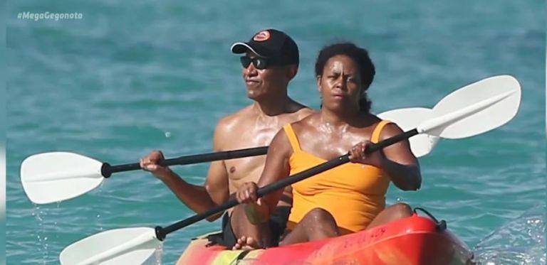 Χαβάη : Απολαμβάνει... «θερινές» διακοπές το ζεύγος Ομπάμα   tanea.gr