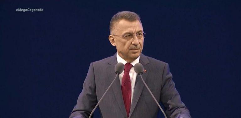 Τουρκία : Λιποθύμησε πάνω στο βήμα ο αντιπρόεδρος της τουρκικής κυβέρνησης   tanea.gr