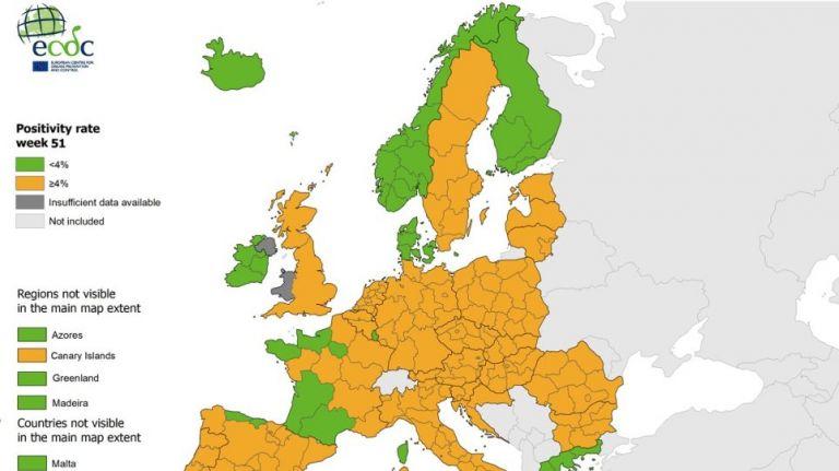 Αχτίδα ελπίδας δίνει ο επιδημιολογικός δείκτης – Κάτω από 4% η θετικότητα των τεστ κοροναϊού στην Ελλάδα | tanea.gr