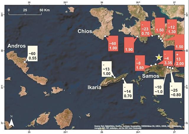 Έσπασε ρεκόρ το τσουνάμι της Σάμου - Το μεγαλύτερο στη Μεσόγειο τα τελευταία 65 χρόνια | tanea.gr