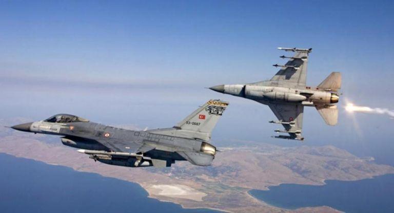 Τον χαβά της η Αγκυρα – Υπερπτήσεις τουρκικών F-16 σε Ανθρωποφάγους και Στρογγυλό | tanea.gr