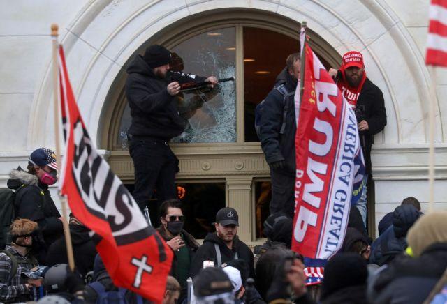 ΗΠΑ : Ο Τραμπ λέει ότι την εισβολή στο Καπιτώλιο την έκαναν «αντιφασίστες» | tanea.gr