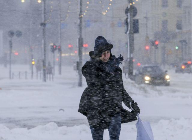 Εκτακτο δελτίο επιδείνωσης καιρού: Ο «Λέανδρος» φέρνει θυελλώδεις ανέμους και πυκνές χιονοπτώσεις | tanea.gr