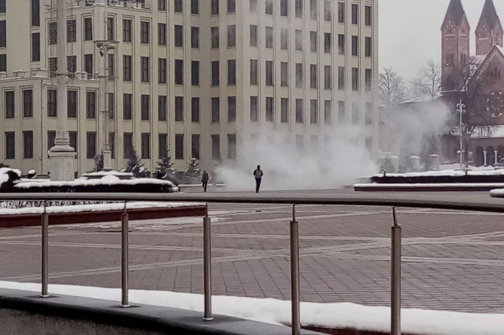 Λευκορωσία : Ανδρας αυτοπυρπολήθηκε έξω από την έδρα της κυβέρνησης στο Μινσκ