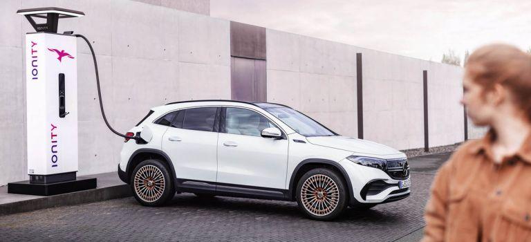 Αποκαλύφθηκε η πιο μικρή, ηλεκτρική Mercedes-Benz , η EQA | tanea.gr