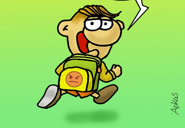 Αρκάς : Ο ερωτοχτυπημένος Θανασάκης πάει σχολείο | tanea.gr