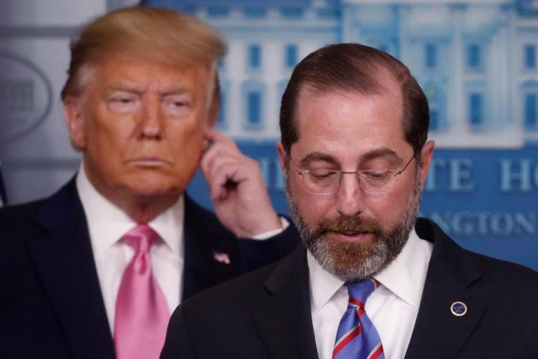 Παραιτήθηκε και ο υπουργός Υγείας των ΗΠΑ λόγω της εισβολής στο Καπιτώλιο | tanea.gr