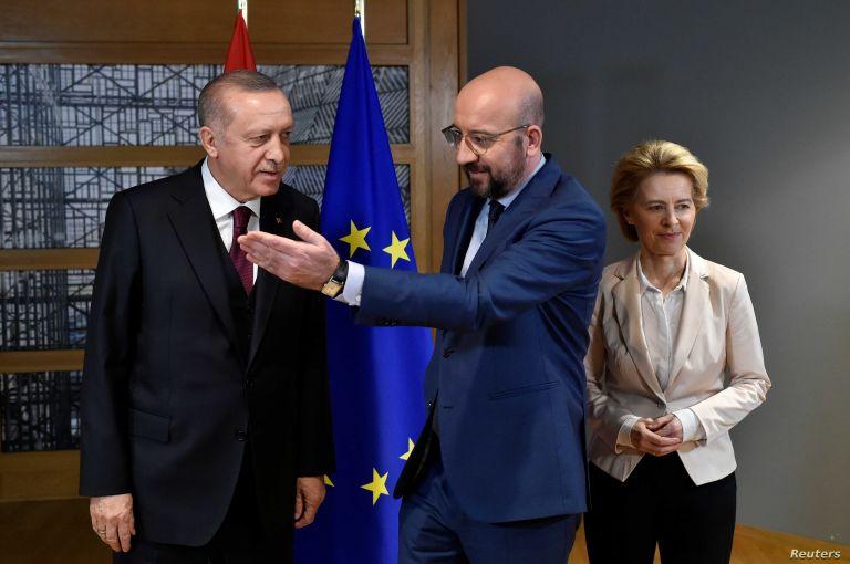Μισέλ : Ζητάμε σεβασμό από την Τουρκία και ενθαρρύνουμε τις απευθείας συνομιλίες με την Ελλάδα   tanea.gr