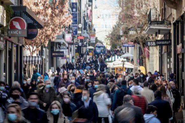 Λαοθάλασσα και σήμερα στους εμπορικούς δρόμους Αθήνας και Θεσσαλονίκης | tanea.gr