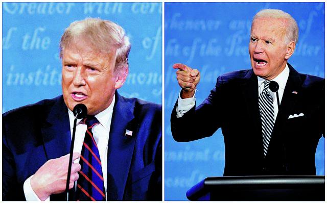 Η πιο «καμένη» θεωρία συνωμοσίας θέλει Τραμπ και Μπάιντεν να έχουν αλλάξει... πρόσωπα | tanea.gr