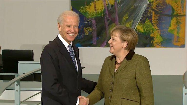 Η Μέρκελ προσκάλεσε τον Μπάιντεν στη Γερμανία | tanea.gr