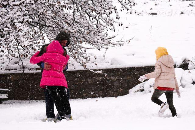 Ο «Λέανδρος» έφερε εκτεταμένη χιονοκάλυψη - Από τις μεγαλύτερες  των τελευταίων 16 ετών   tanea.gr
