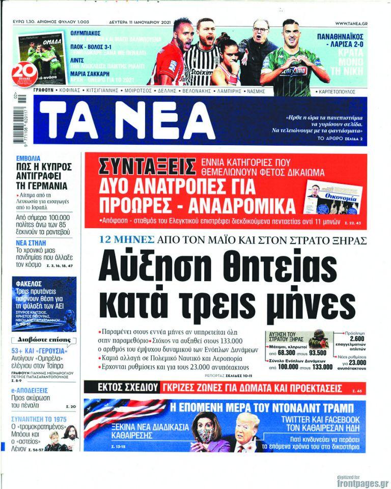 Εγκρίθηκε η 12μηνη θητεία στον Στρατό | tanea.gr